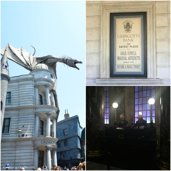 Gringott's Bank at Universal