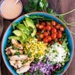 Mexican Street Corn Chicken Salad