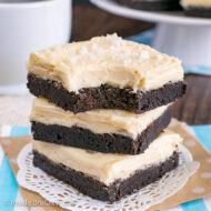 Salted Caramel Chocolate Sugar Cookie Bars