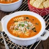 Creamy Italian Tomato Soup Recipe