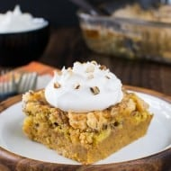 Easy Pumpkin Crunch Cobbler – Try it hot or cold!