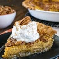Pecan Pumpkin Cheesecake Pie