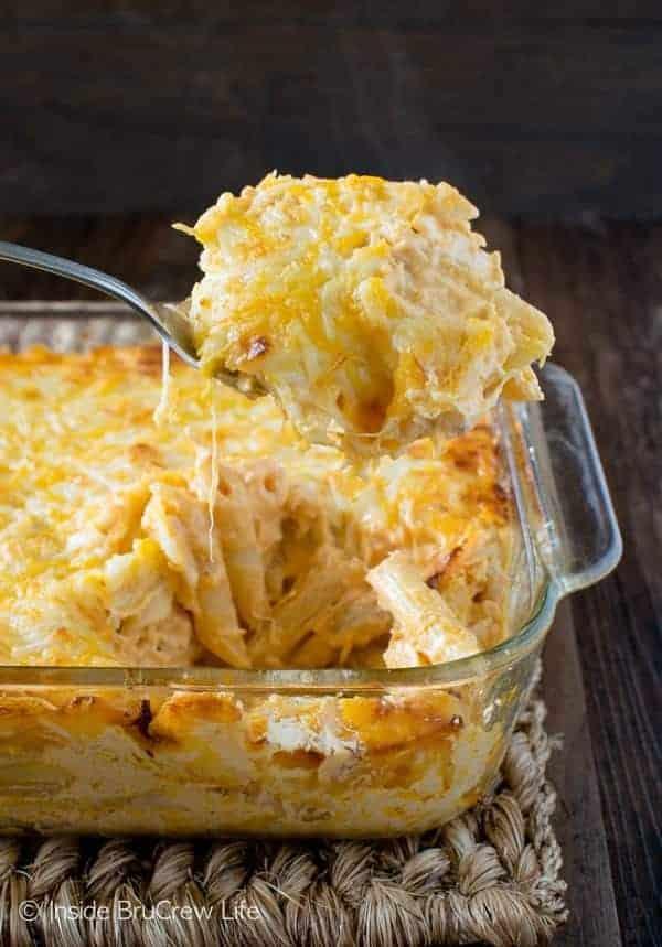 Buffalo Chicken Pasta Bake Ready In 30 Minutes Inside Brucrew Life