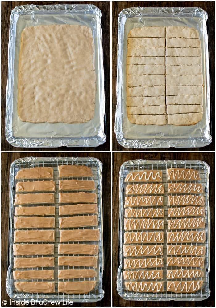 How to make Glazed Apple Butter Shortbread Bars