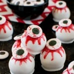 Peanut Butter Zombie Eyeballs Recipe