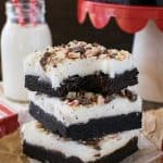 Chocolate Peppermint Bark Sugar Cookie Bars