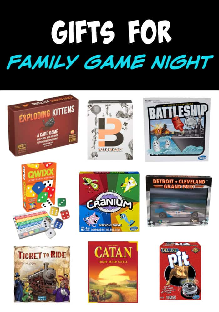 Holiday Gift Ideas for the Whole Family - Gifts for Family Game Night