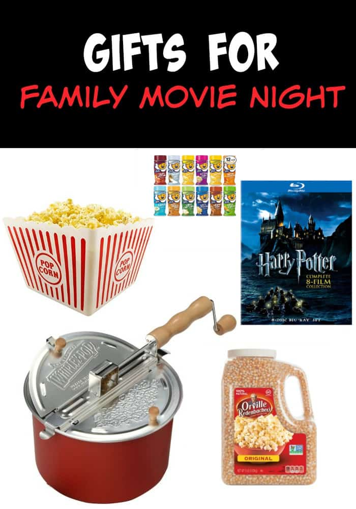 Holiday Gift Ideas for the Whole Family - Gifts for Family Movie Night