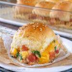 Cheesy Chicken Sliders Recipe