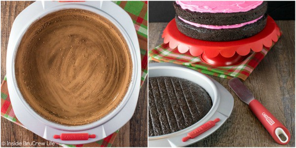 How to make a Chocolate Peppermint Layer Cake