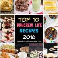 Top Ten BruCrew Recipes from 2016