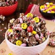 Dark Chocolate M&M's Popcorn