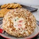 Tomato Basil Cheese Ball
