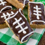 Football Cookie Bars
