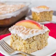 Snickerdoodle Apple Cake