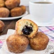 Blueberry Jelly Donut Holes Recipe