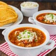 Easy Pizza Soup