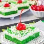 Shamrock Shake Sugar Cookie Bars