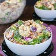 Bacon Broccoli Tortellini Salad