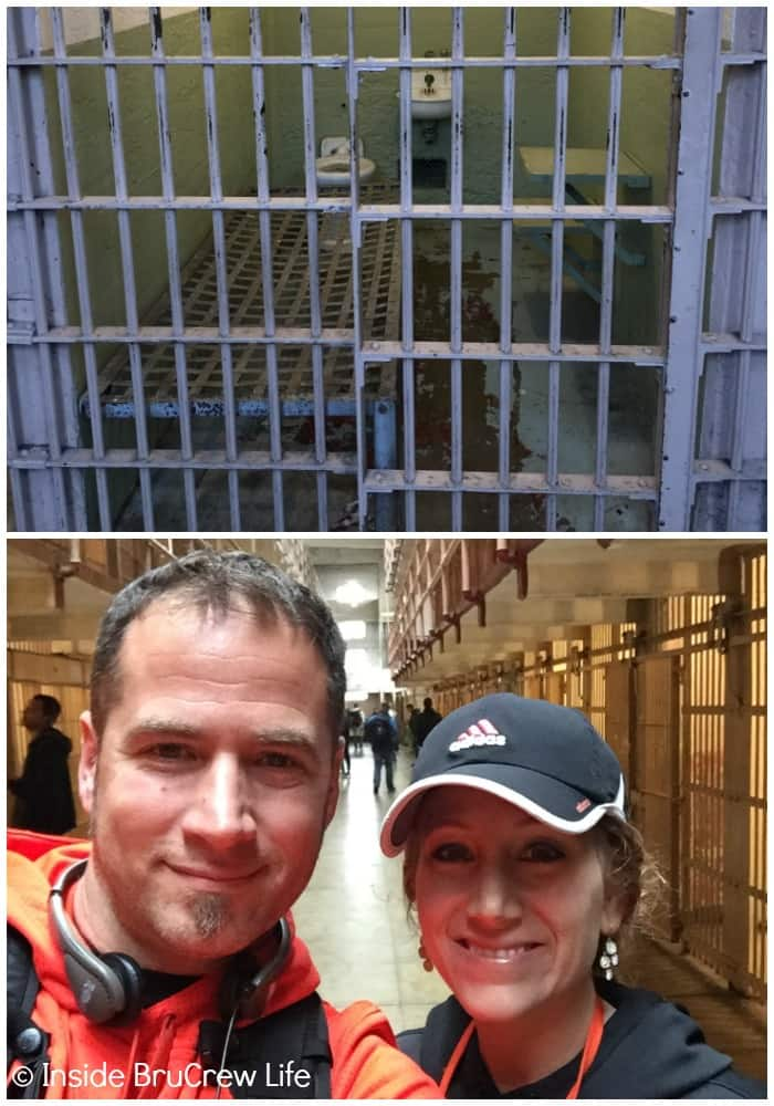 Touring the cells in Alcatraz made our Seven Places to Visit in San Francisco list.