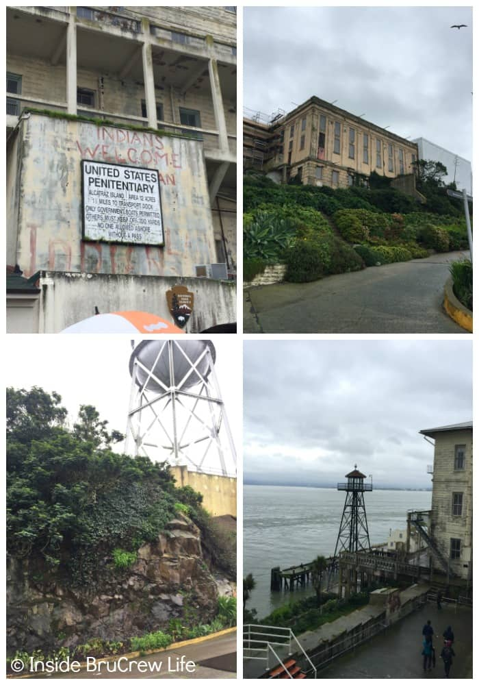 A trip to Alcatraz is one the Seven Places to Visit in San Francisco.