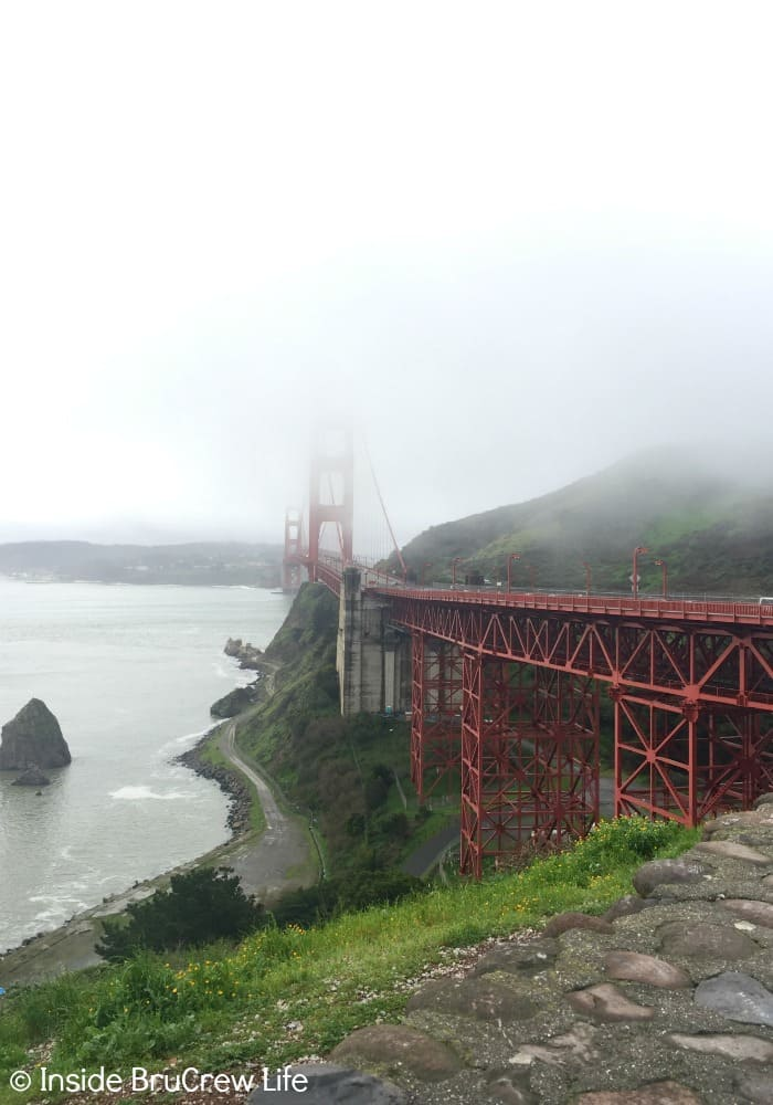 Seven Places to Visit in San Francisco - seeing the Golden Gate Bridge is definitely a high light to any San Francisco trip.
