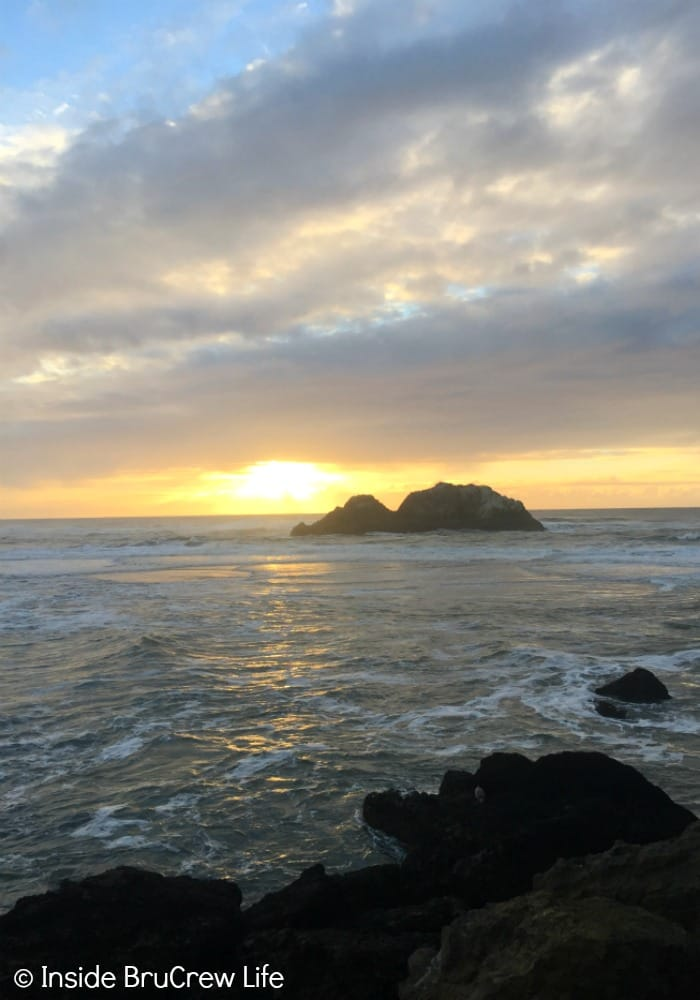 Seven Places to Visit in San Francisco - watching the sun set at Lands End is a great way to end any day in San Francisco.