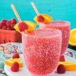 Raspberry Orange Slushies