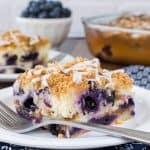 Blueberry Pecan Coffee Cake