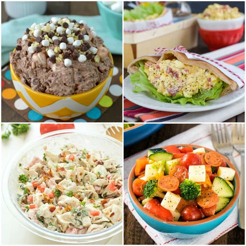 20 Picnic Salads - easy picnic salad recipes that are great for summer parties or picnics