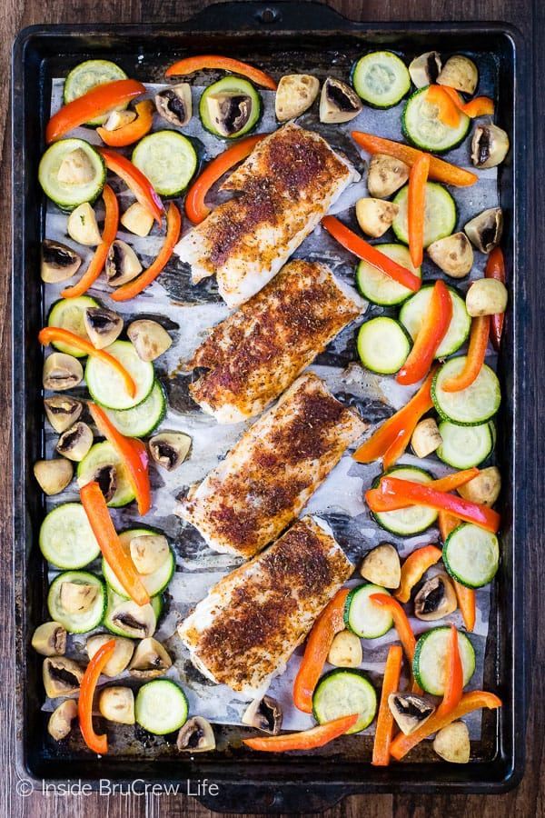 Sheet Pan Chile Lime Cod