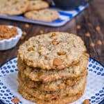 Cinnamon Banana Oatmeal Cookies