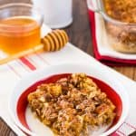 Cinnamon Apple Baked Oatmeal
