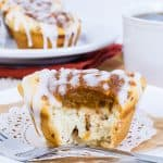 Pumpkin Pie Cinnamon Roll Cups