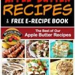 Apple Butter Recipes and E-Recipe Book