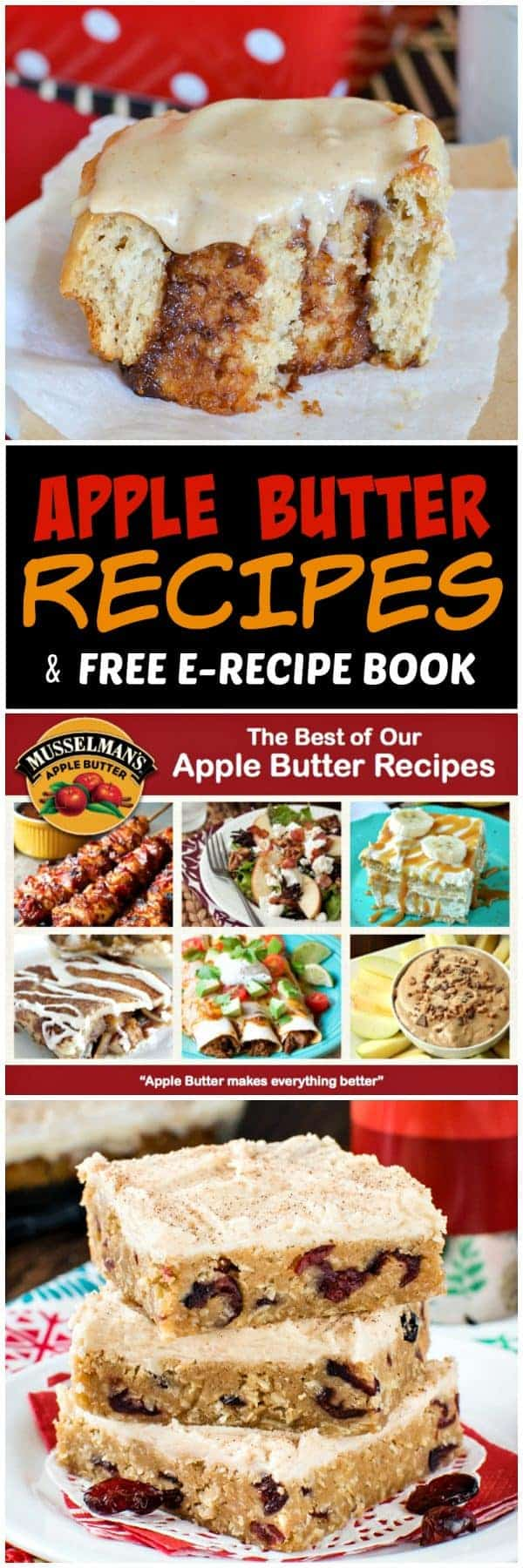Apple Butter Recipes - find these easy apple butter recipes in the free e-recipe book provided by Musselman's