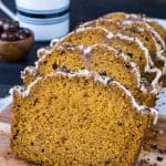 Pumpkin Spice Latte Bread