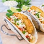 Crispy Sriracha Ranch Fish Tacos