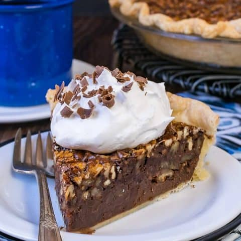 Chocolate Fudge Pecan Pie
