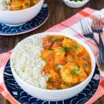 Coconut Curry Shrimp