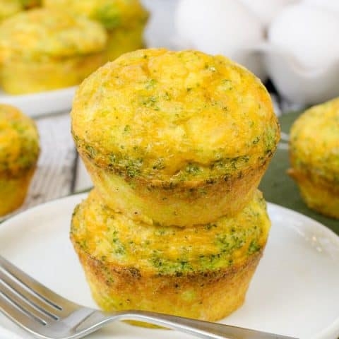 Broccoli Cheese Egg Muffins