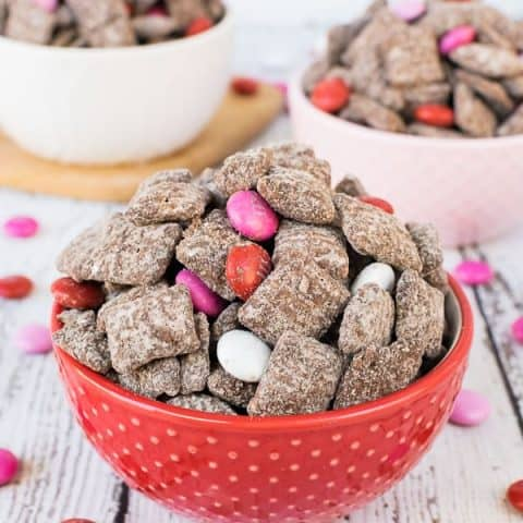 M&M's Brownie Batter Muddy Buddies