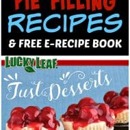 Pie Filling Recipes and E-Recipe Book