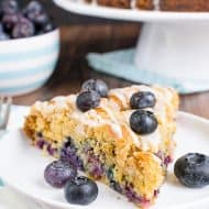 Blueberry Orange Crumble Cake