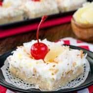 Pina Colada Sugar Cookie Bars