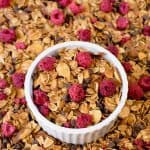 Raspberry Chocolate Chip Granola