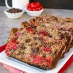 Cherry Chocolate Chip Banana Bread