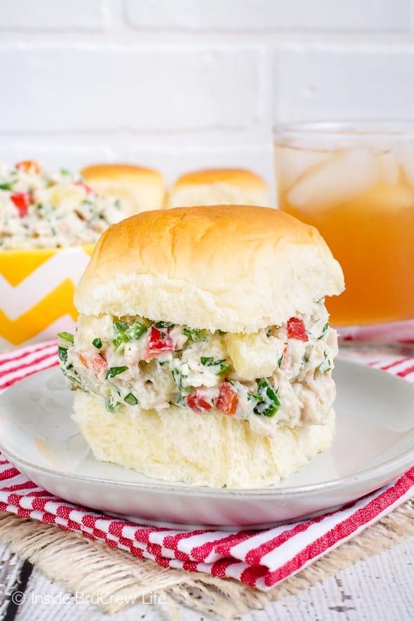 Hawaiian Chicken Salad - Inside BruCrew Life