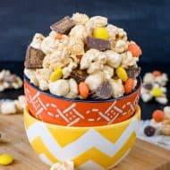 Salted Caramel Reese's Popcorn