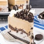 Coffee Cookies and Cream Ice Cream Cake